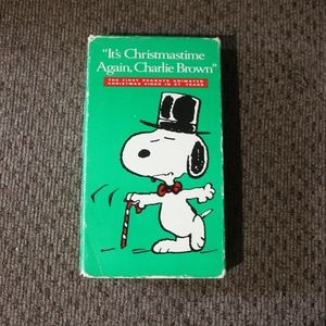 It's Christmastime Again Charlie Brown VHS